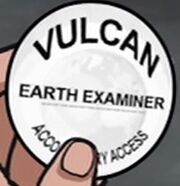The Examiner's badge