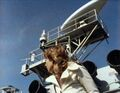 Jo on Navy roof - Sea Devils.jpg
