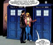 Police Box the Love Invasion