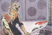 Flinthair as a Werewolf