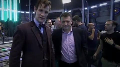 *SPOILERS* Behind the scenes The Time of the Doctor & Matt Smith's regeneration - Doctor Who - BBC