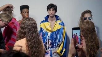 Doctor Who at London Fashion Week 2018 Fyodor Golan Doctor Who