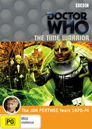 The Time Warrior DVD region 4 cover