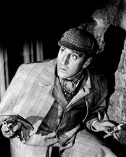 Basil Rathbone Sherlock Holmes All-Consuming Fire