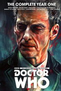 The Twelfth Doctor Year One cover