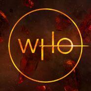 Doctor Who 2018 circular logo
