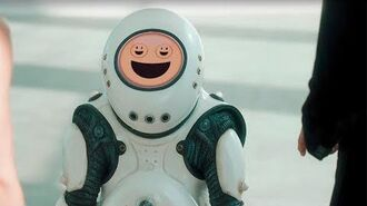 Meeting an Emojibot Smile Doctor Who BBC