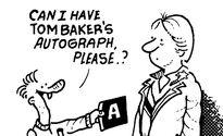Tom Baker's Autograph