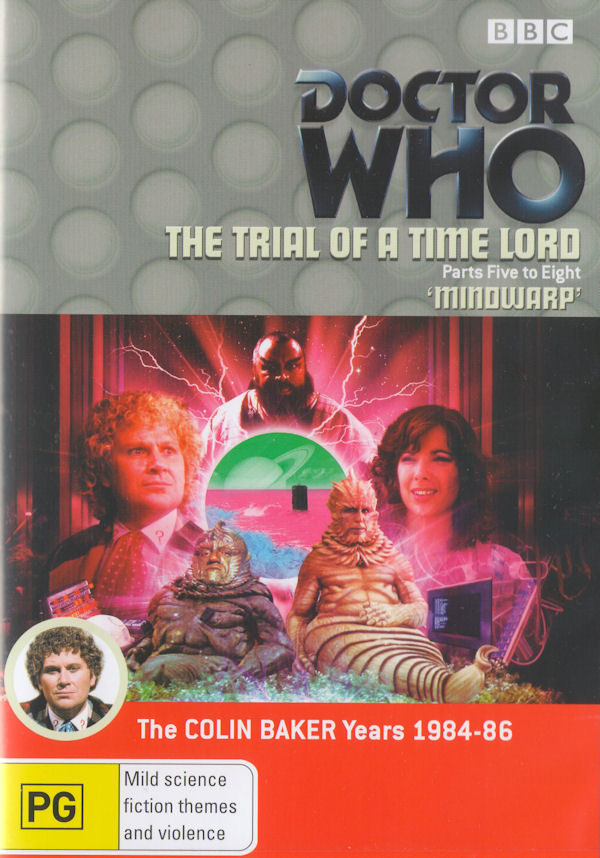 Trial Of A Time Lord 5 8 Australia Dvd