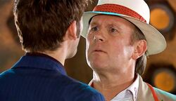 Fifth doctor time crash