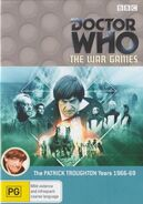 The War Games DVD Australian cover