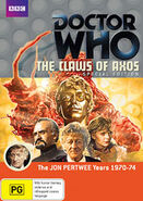 The Claws of Axos Special Edition Region 4 Australian DVD cover
