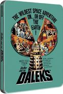 Dr. Who and the Daleks 2013 UK Blu-ray Steelbook