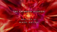 The Crimson Horror - Title Card