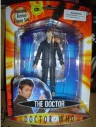 CO 5 Tenth Doctor with brown suit and 3D glasses