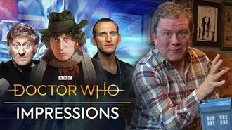 Doctor Who Impressions with Jon Culshaw Doctor Who Magazine