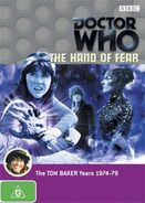 The Hand of Fear DVD Australian cover