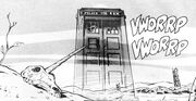 Homage to An Unearthly Child in Emperor of the Daleks