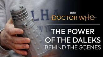 Behind the Scenes The Power of the Daleks Special Edition Doctor Who