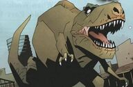 Kevin the Robot Dinosaur