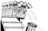 Daleks and Stairs