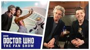 EXCLUSIVE Peter Capaldi & Brian Minchin Interview - The Aftershow - Doctor Who The Fan Show