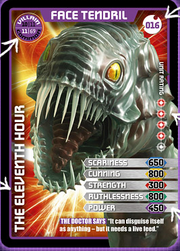 Face Tendril card