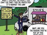The Honourable Burger (comic story)