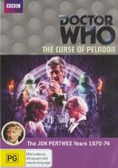 The Curse of Peladon DVD Australian cover