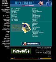 Website 1998 Alien Fact Files