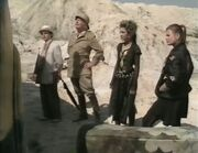 Four adventurers bus