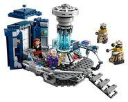 Lego TARDIS interior