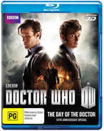 The Day of the Doctor 2013 Blu-ray Au-3D