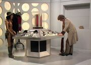 The Invisible Enemy TARDIS interior