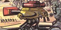 Ray gun post