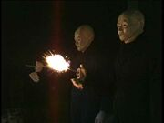 Pair of Autons firing BBV Auton