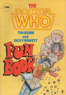 Doctor Who Fun Book