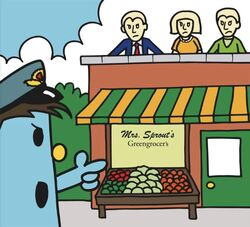 Mrs Sprout greengrocer