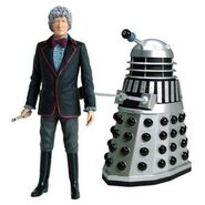 CO Third Doctor and Dalek