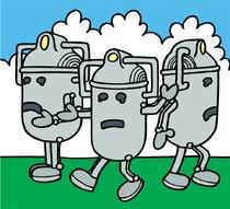 Cybermen attacking London