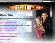 New Series Website Homepage on 10 March 2005 2
