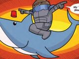 The Adventures of Strax & the Time Shark (comic story)