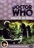Genesis of the Daleks DVD Netherlands cover