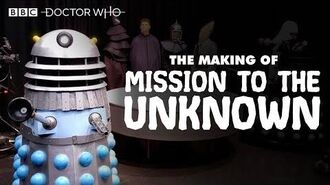 The Making-Of Mission to the Unknown Doctor Who