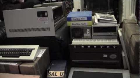 BBC's Historic Mainframe Arrives!! (Quantel Paintbox DPB 7000) This created many 80s programs!!