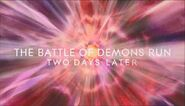 The Battle of Demons Run- Two Days Later title card 1