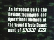 Visual Effects In Television 2