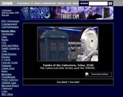 Website 2001 TARDIS-Cam a