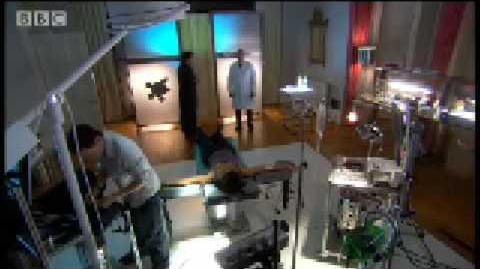 Alien laboratory torture chamber - Torchwood - BBC