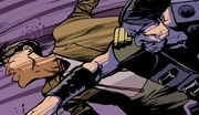 11DY2 Issue 10 Daak Punches the Doctor
